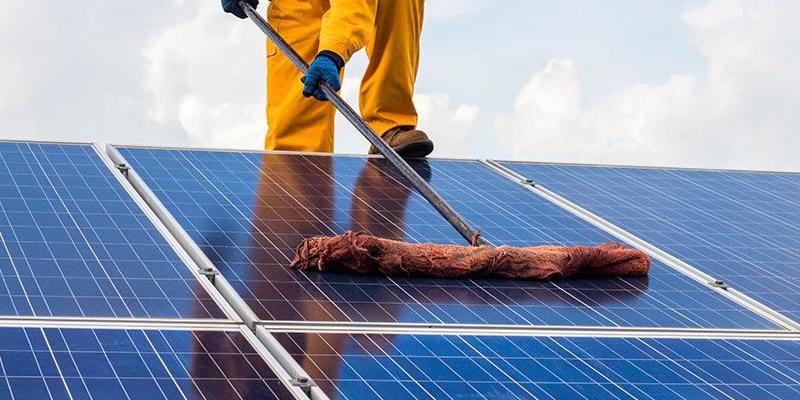napelem karbantartása tisztítása